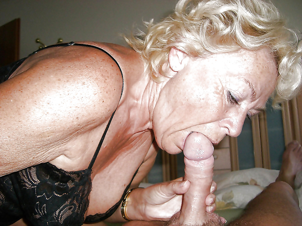Oma giving blow jobs — pic 13