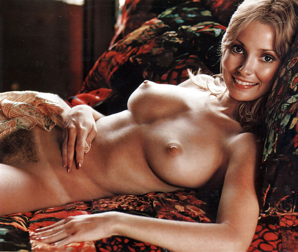 Vintage nude centerfolds