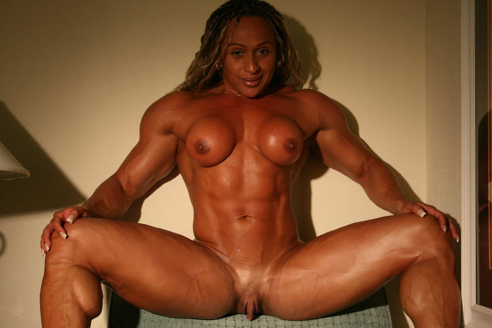 Muscular Woman Big Clit