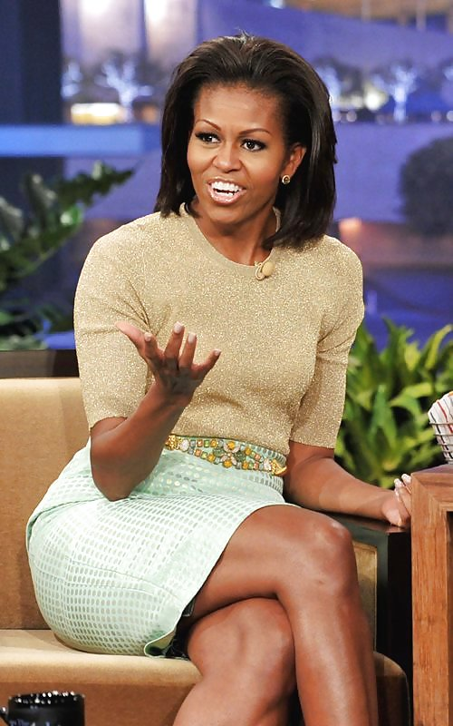 First lady lectures leno on eating