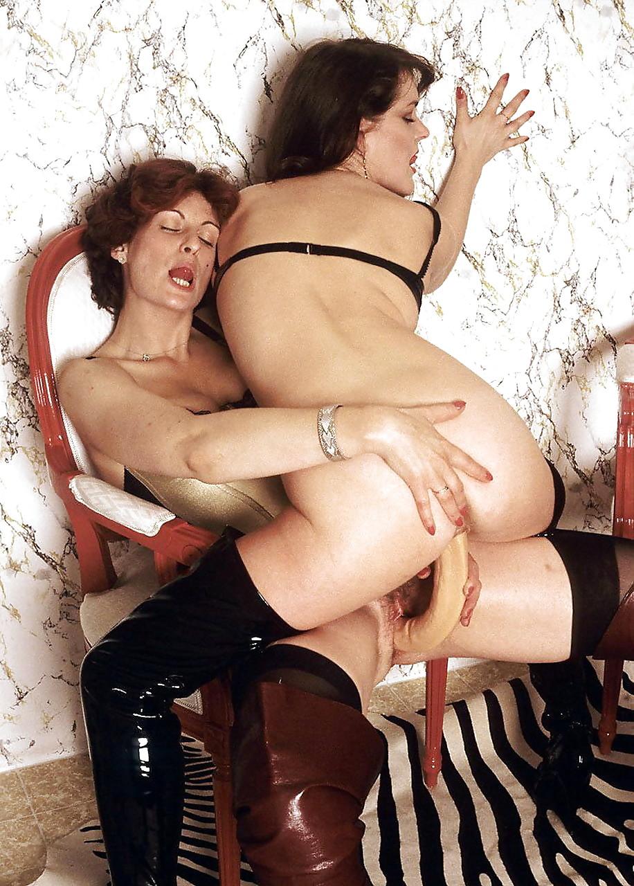 Retro hairy lesbian tube-8613
