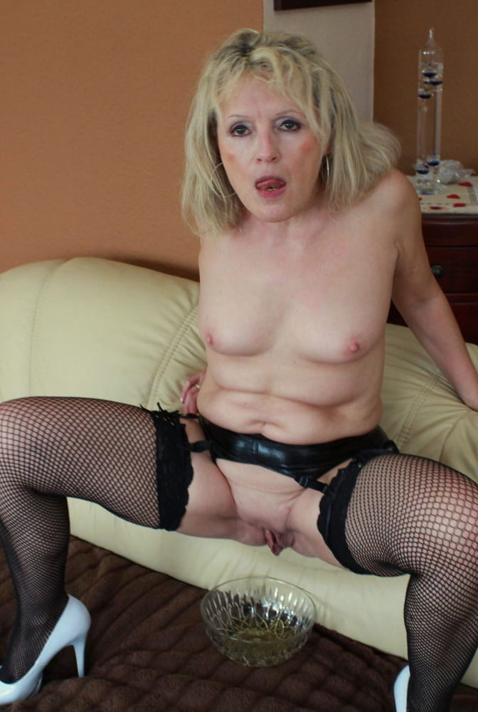 Mature Blonde Slut 1
