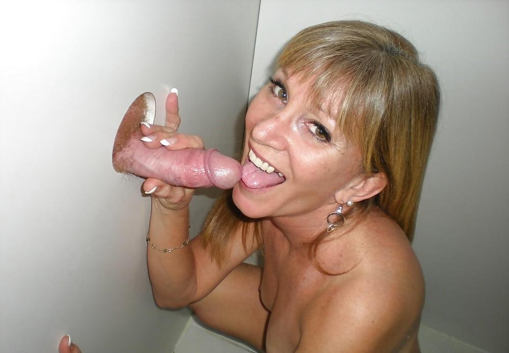 Gloryhole Mom Sucks Cum Out Of Many Cocks