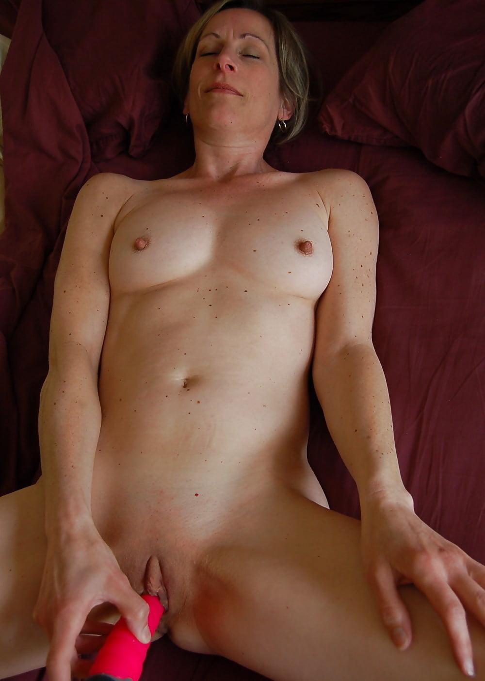 Masturbating nude mature women
