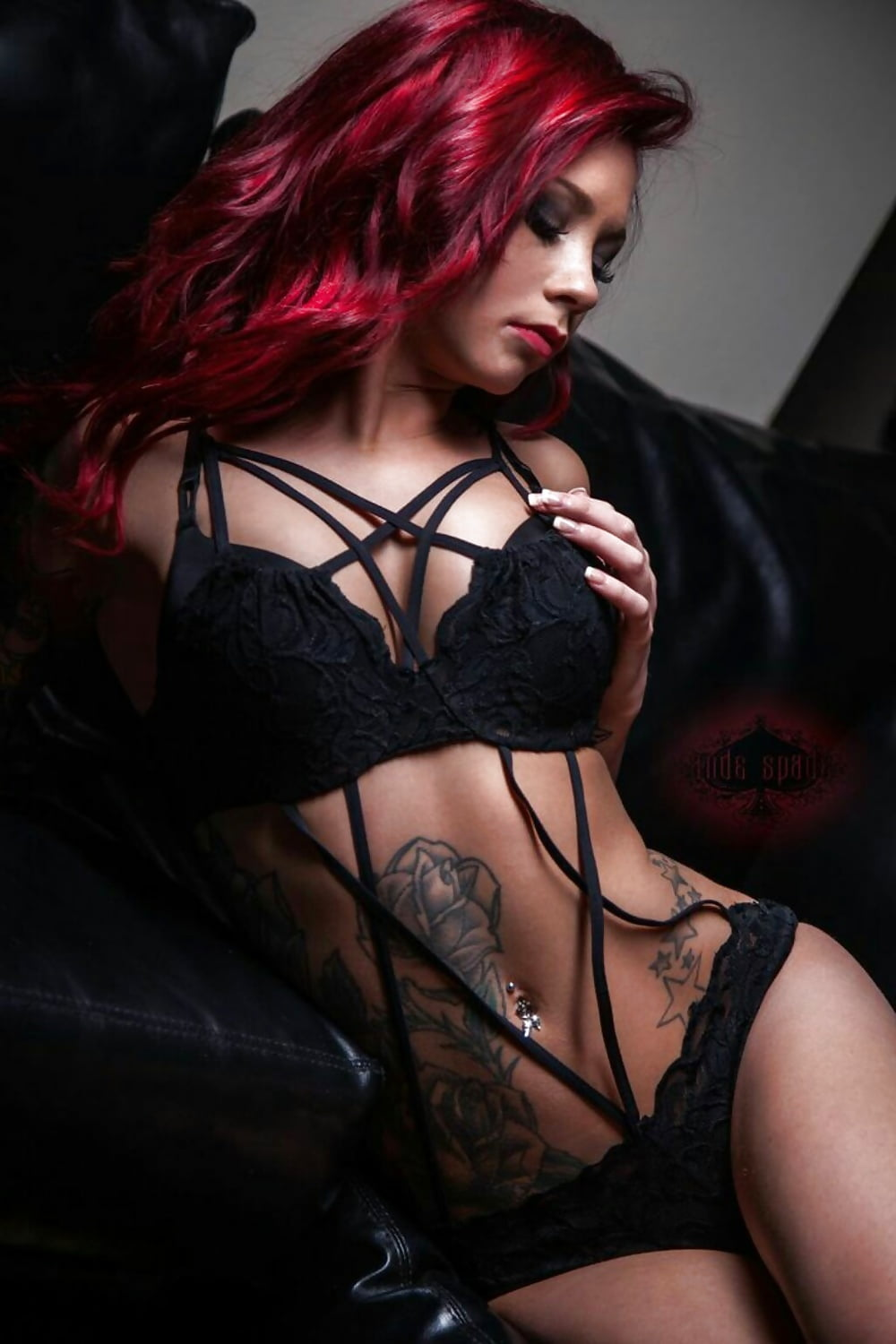 Sexy naked gothic babes, when eating pussy