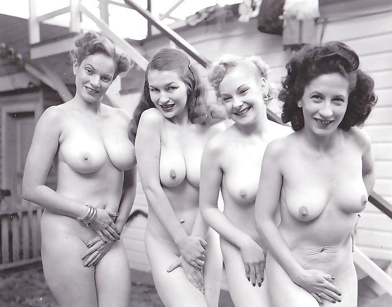 Retro naked women tube free