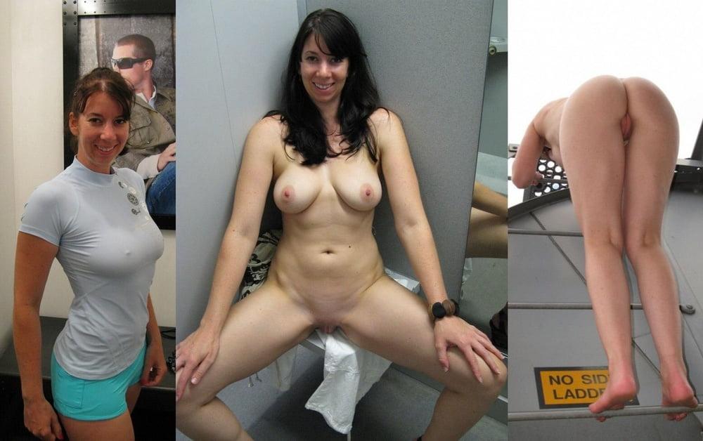 Milf nude selfie changing room naked