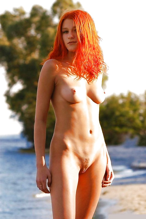Naked redhead girl ginger pubes