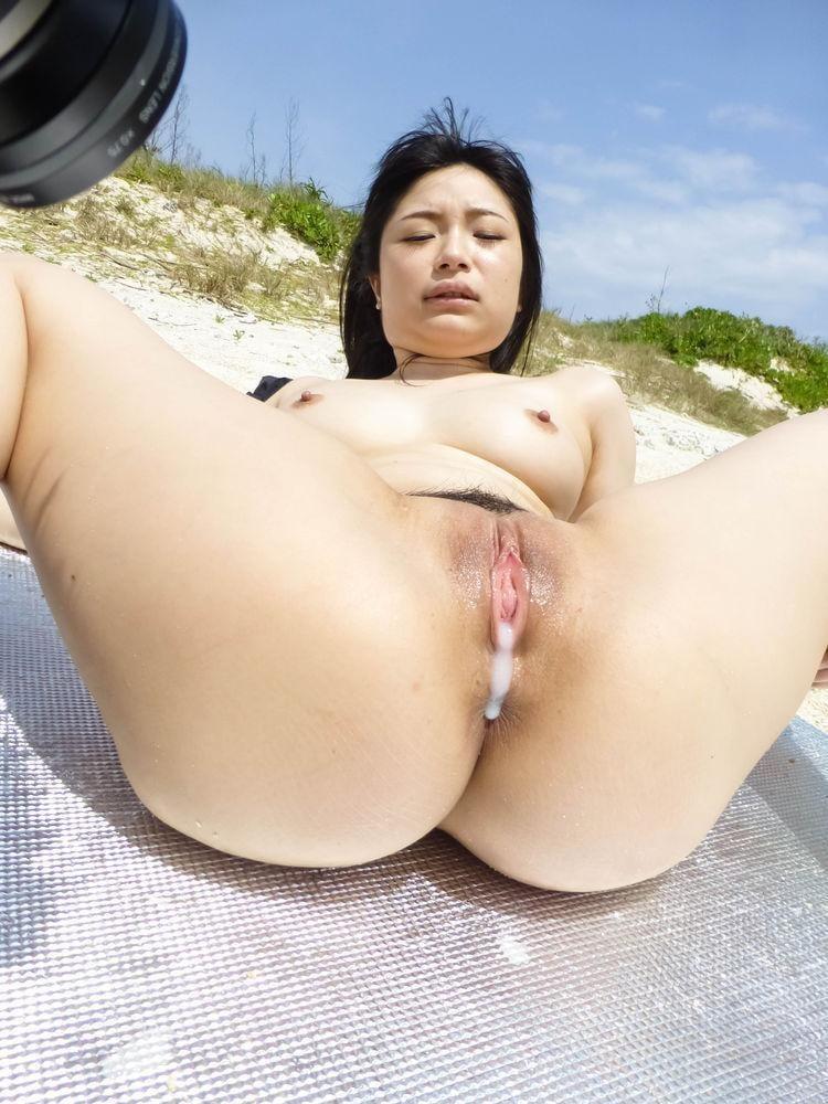 Asian Public Creampie