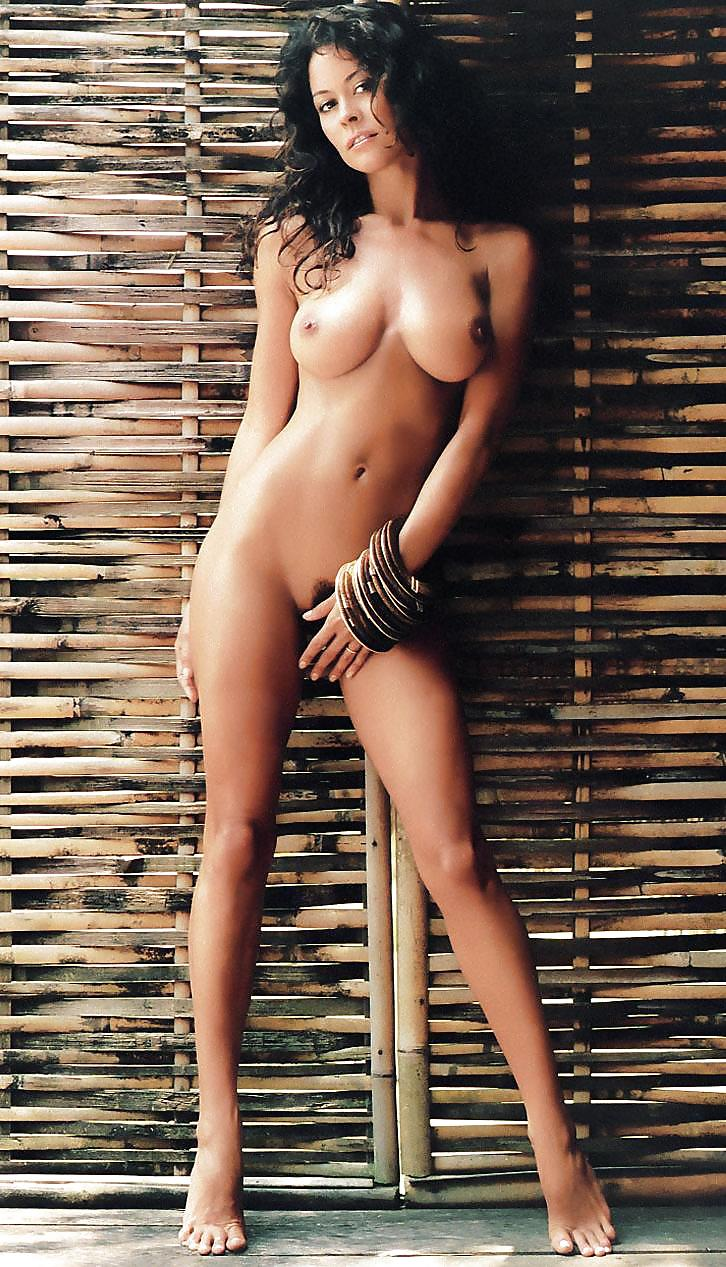 naked-spread-brooke-burke-posed-in-playboy-years