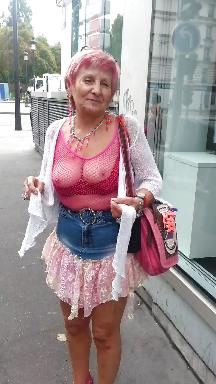 Sexy Old French Granny - 46 Pics  Xhamster-6358