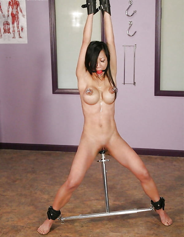 Girl on spreader bar nude, black girls nn