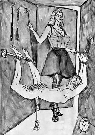 bondage art carole Lady
