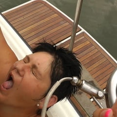 Annadevot Boat Special: Double Insemination Fucking Mouth