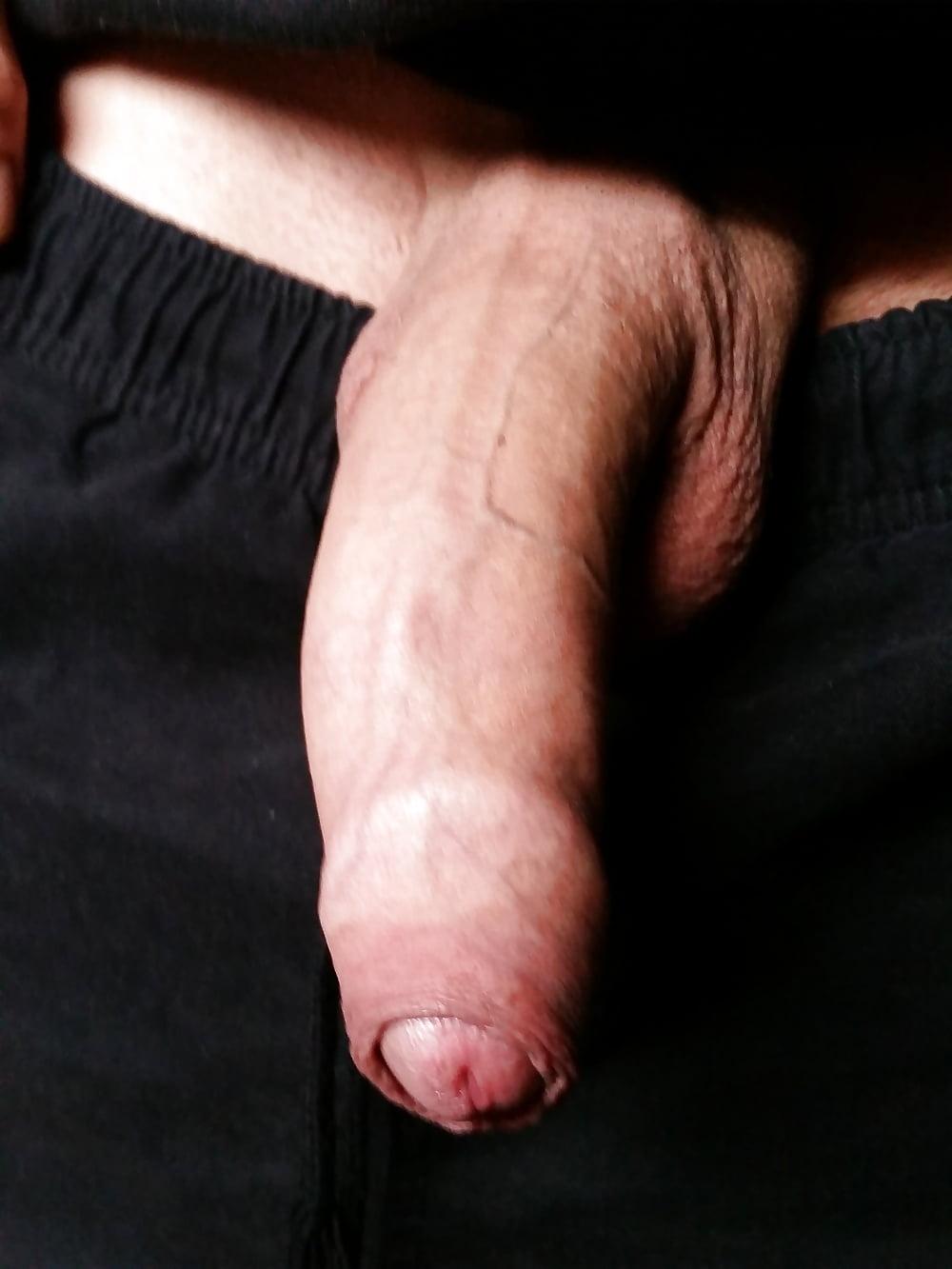 Uncut penis pix