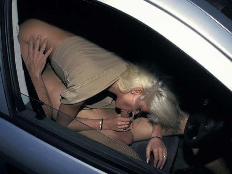 Девушки под рулем миньет #11