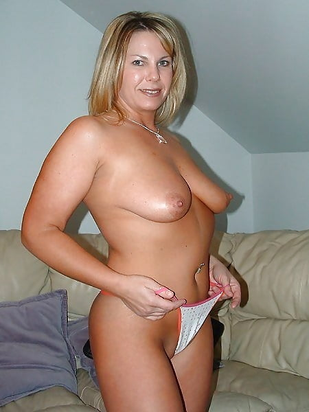 Extremely large mature breasts