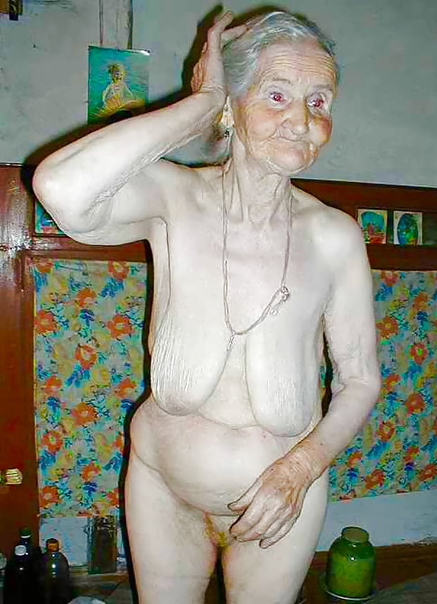 Old disgusting naked women — 8