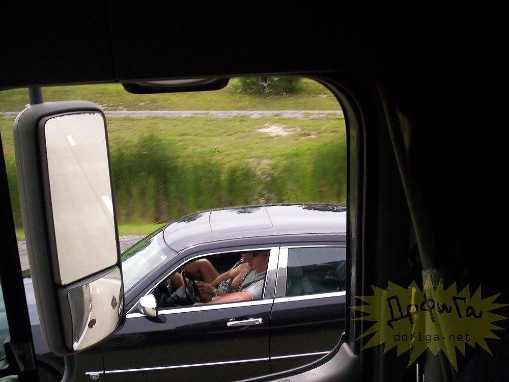 flashing truckers videos