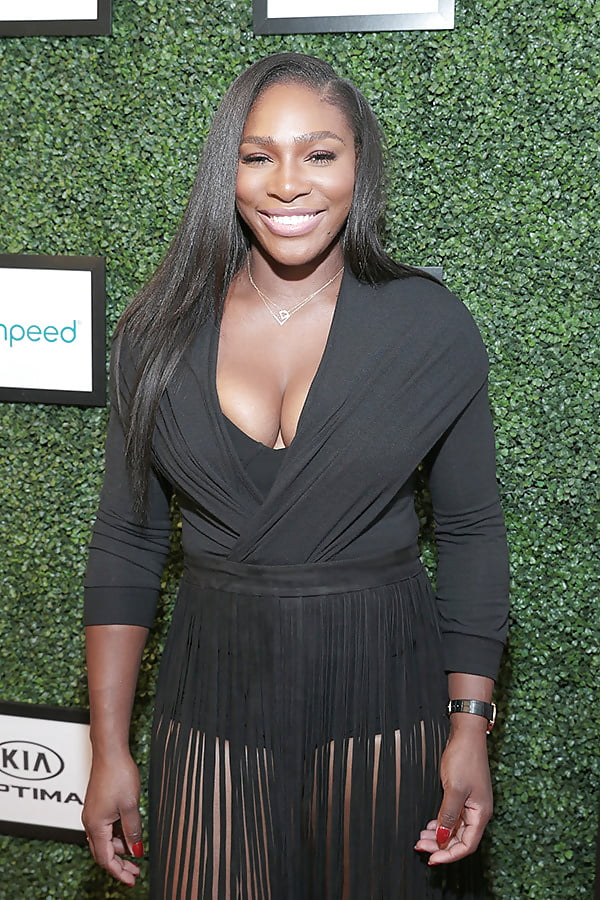 Pictures of serena williams breasts, video of wife girlfriend