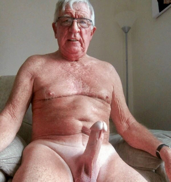 Hairy Fat Grandpa Penis