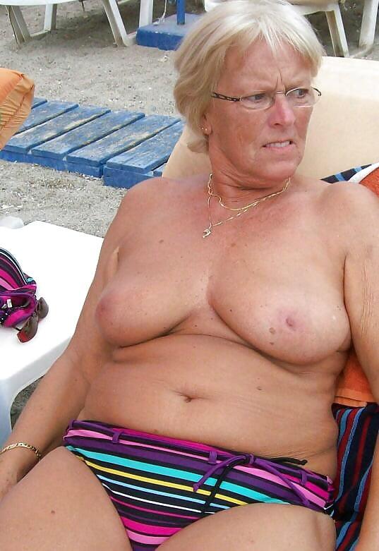 Grandma tits