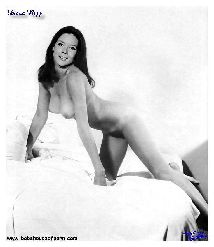 Nude young diana rigg
