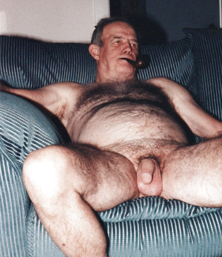 Nude old hairy old men — pic 11