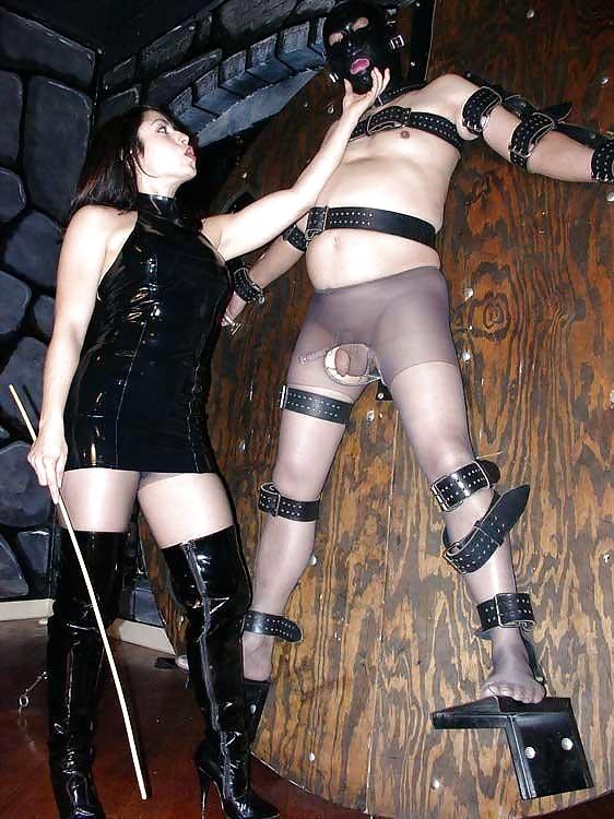 Mistress Rides Slave Face