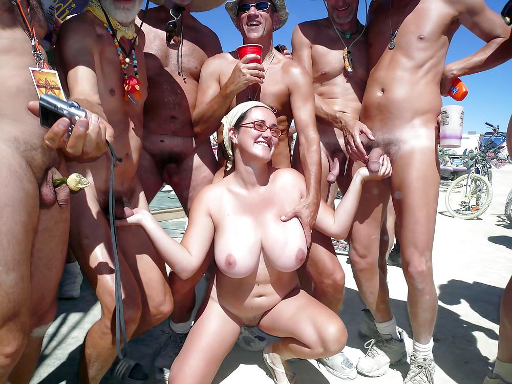 Outdoor porn nudist colony — photo 12