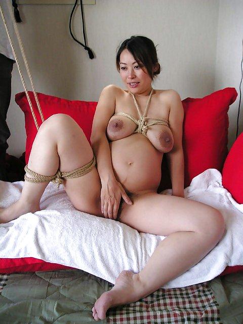 Asian pregnant caption porn