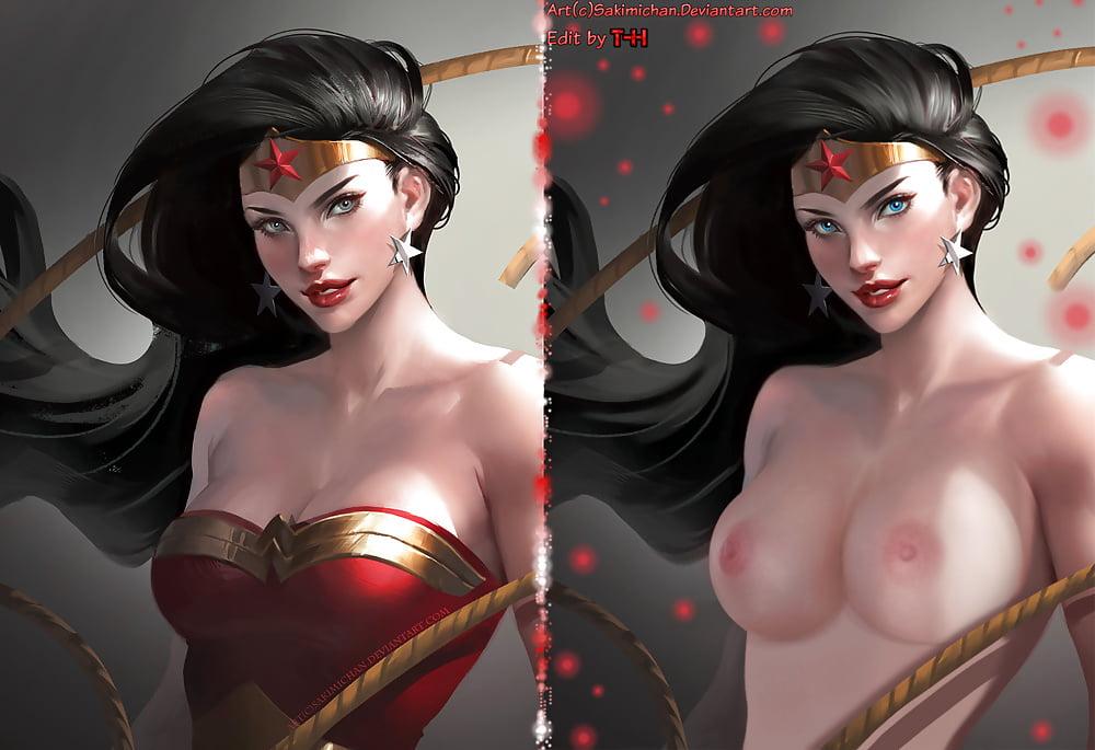 Naked videos of wonder woman and elastigirl — photo 14
