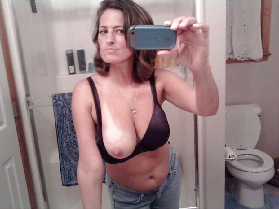 mature amateur milf selfie