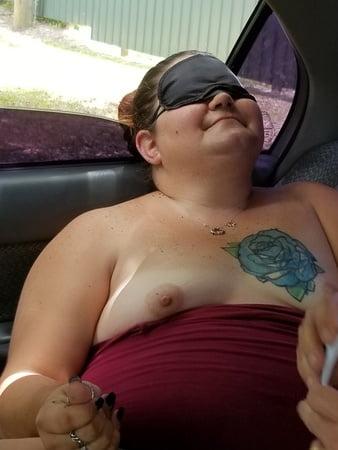 clit Blindfolded strangers