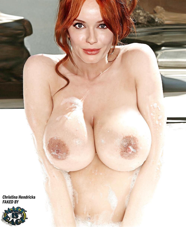 Christina Hendricks Phone Hacked But Nude Photo Not Her