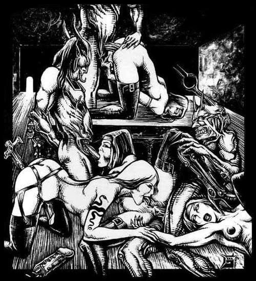 Шабаш лесбиянок порно 8