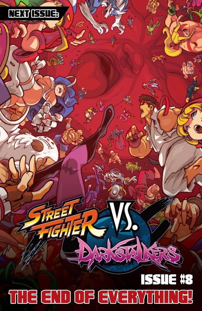 Street Fighters Vs Darkstalkers - 242 Pics
