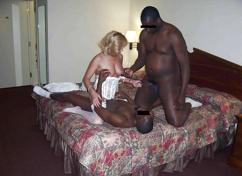 Watching wife with big black cock butt