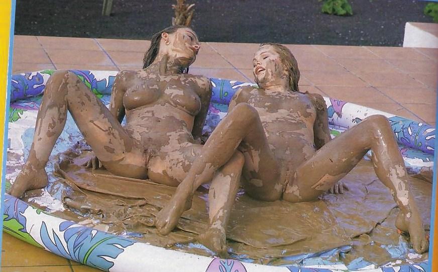 Nude Black Girls Mud Wrestling