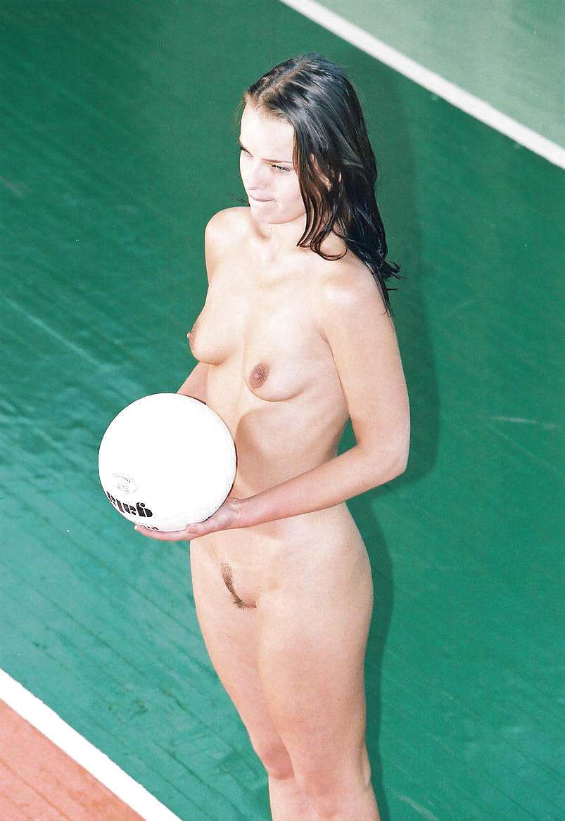 College womens nude volleyball — img 15