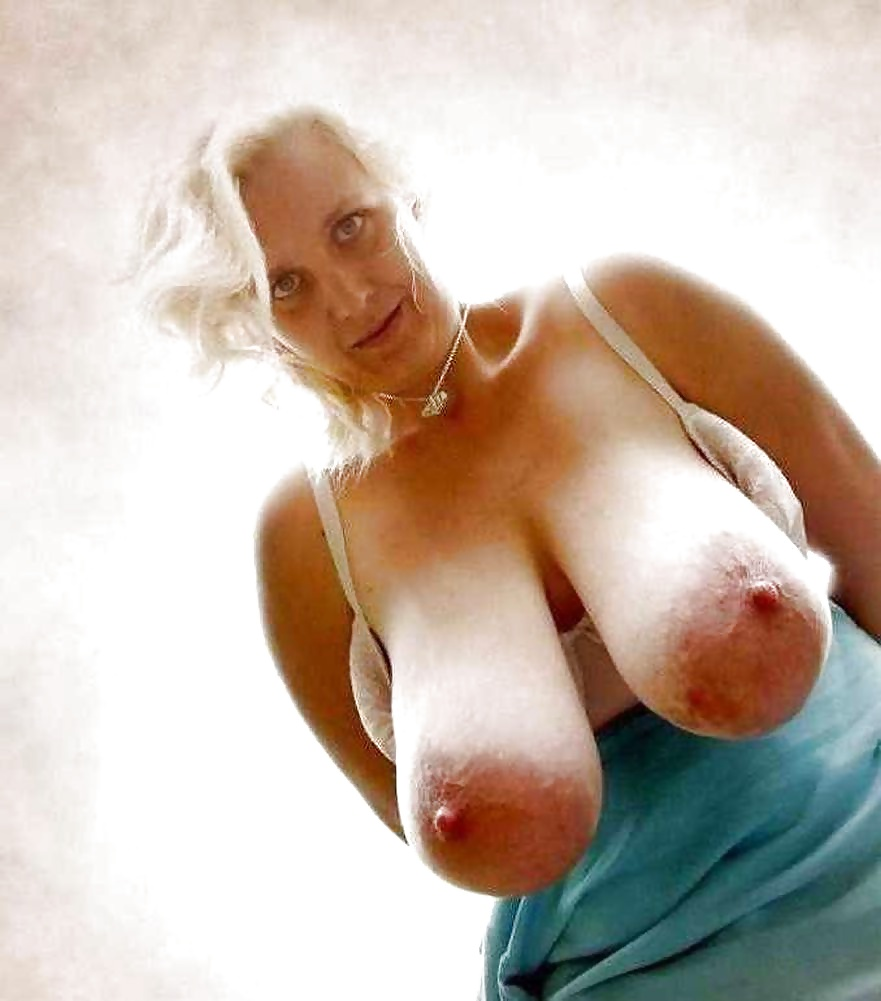 Old Woman With Saggy Tits
