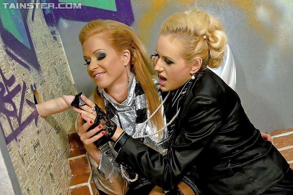 Strapon busty lesbian-8117