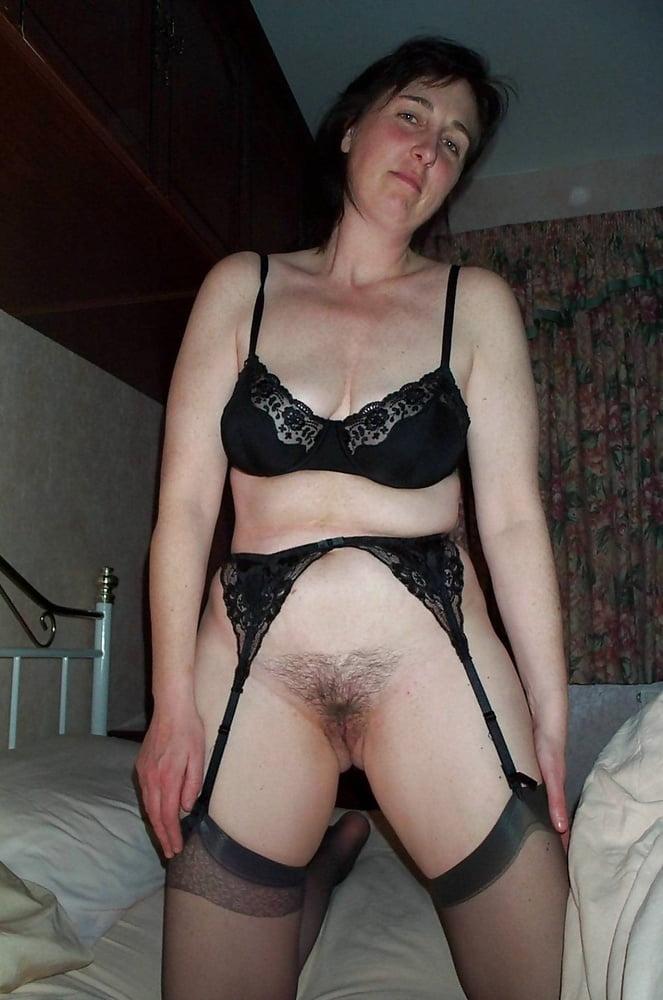 Amateur bra and panties