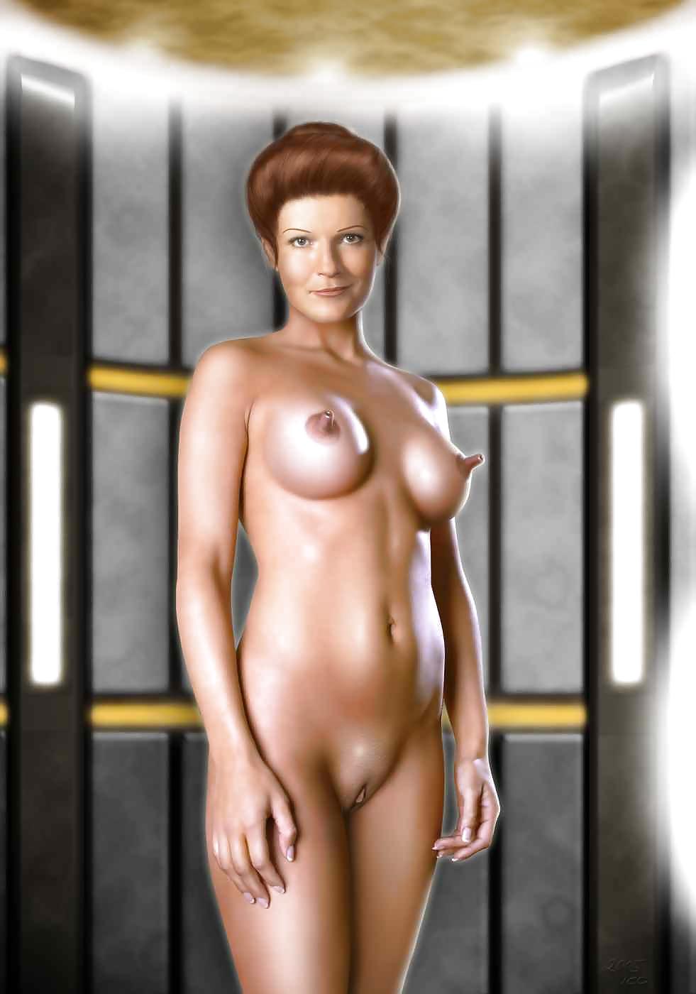 Women Of Star Trek Nude