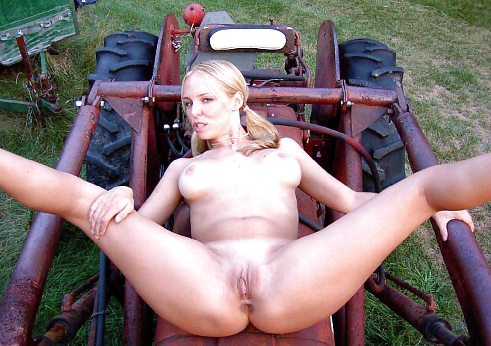 Farm naked girl sex