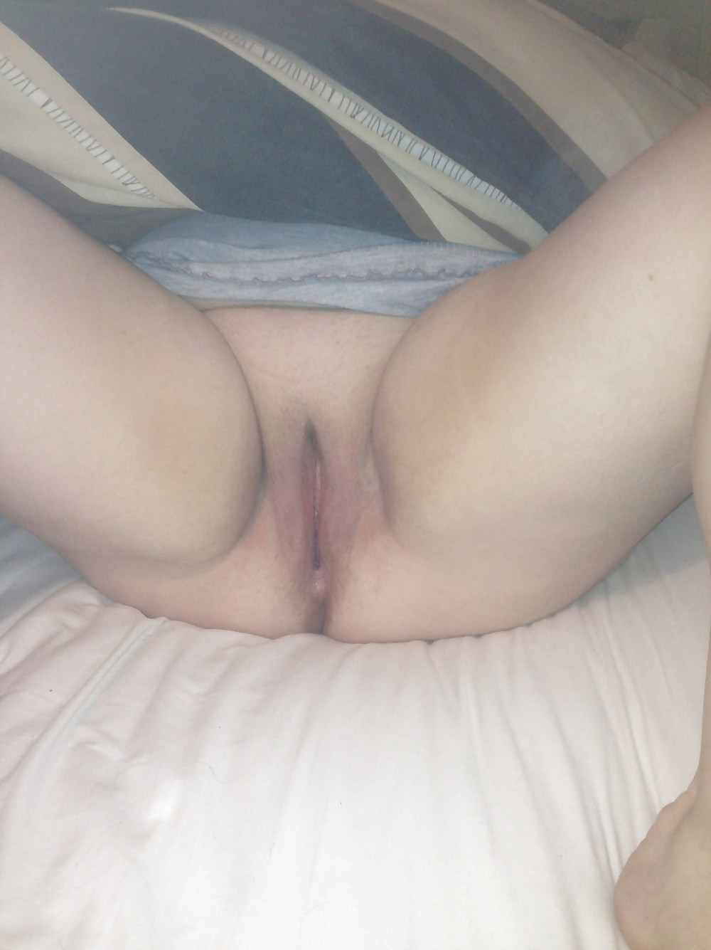 Wife teases him into sex