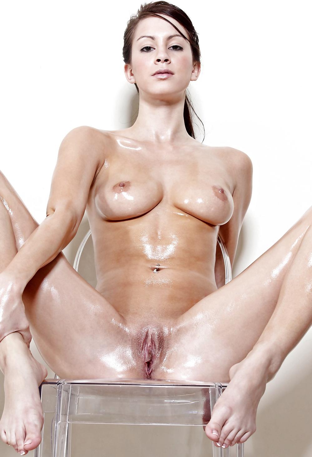 Nude women lube