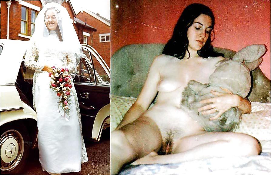 Slut in wedding dress