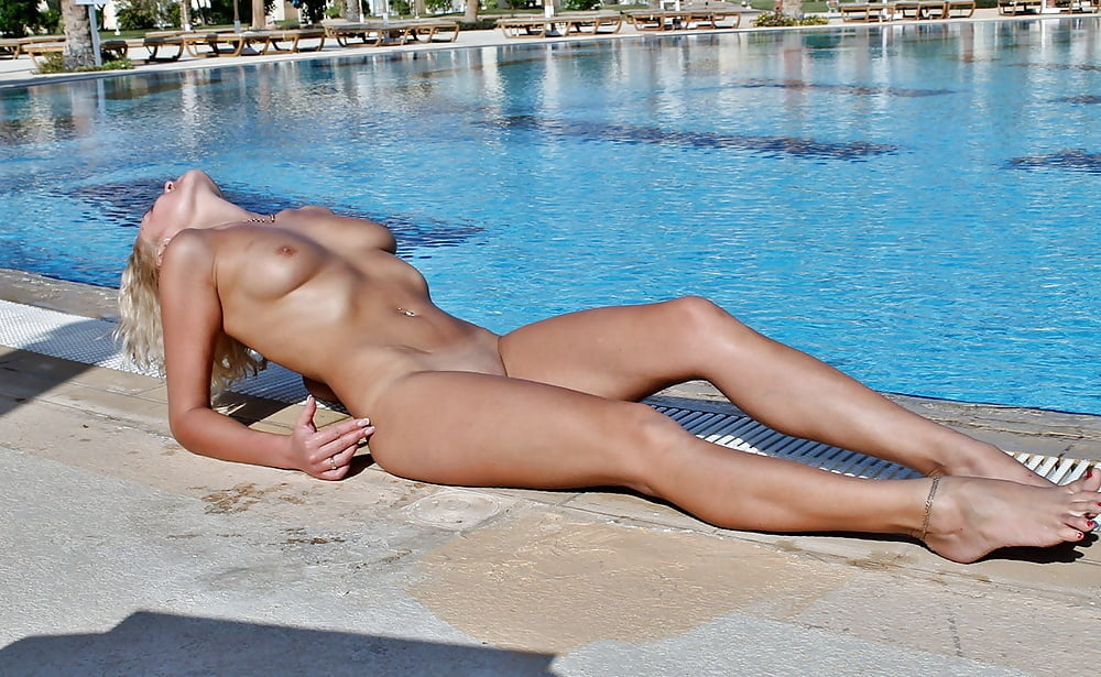 Naked towie pool party