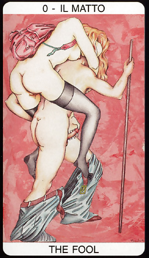 On a quest for the perfect erotic tarot deck